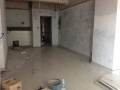 Mock Up Type B2 Living & Kitchen Tiling Work In Progress