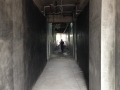 25 Block 5 Level 2 Mock Level Corridor Plastering 90 percent Completed