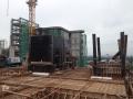 26 Block 5 Level 15 Lift Core Wall Formwrok In Progress