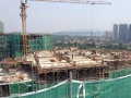 Block 5 Level 17th Slab & Beam Formwork in progress