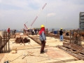 Block 5 Level 17th_Slab & Beam Formwork in progress