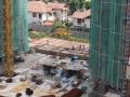 Podium Taska & Surau Area Slab & Beam Formwork In Progress