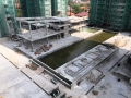 PODUIM_CLUB HOUSE R.C. STRUCTURE COMPLETED