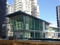 21 Podium Club House - Glazing Inner Frame Installation In Progress